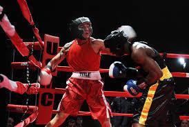 Humorous depiction of two boxers representing the battle between Kent RO Vs Aquaguard RO